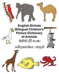English-Sinhala Bilingual Children's Picture Dictionary of Animals