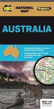 Australia   1 : 5 800 000