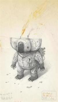 Shaun Tan Notebook - Koala (Blue)