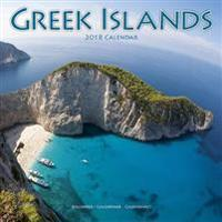 Greek Islands Calendar 2018