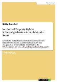 Intellectual Property Rights - Schutzmoeglichkeiten in Der Bildenden Kunst
