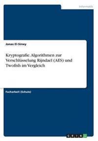 Kryptografie. Algorithmen Zur Verschlusselung Rijndael (AES) Und Twofish Im Vergleich