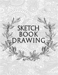 Sketch Book Drawing: Graph Paper Notebook, 8.5 X 11, 120 Grid Lined Pages (1/4 Inch Squares)