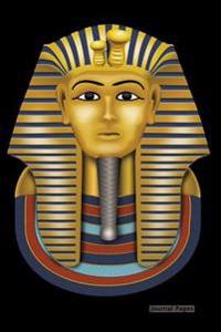 """Journal Pages - Ancient Egyptian Pharaoh: 6"""" X 9,"""" Lined Journal, Blank Book Notebook, Durable Cover,150 Pages for Writing"""