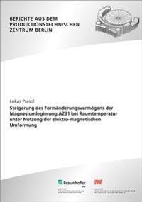 Steigerung des Formänderungsvermögens der Magnesiumlegierung AZ31 bei Raumtemperatur unter Nutzung der elektro-magnetischen Umformung.