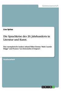 Die Sprachkrise Des 20. Jahrhunderts in Literatur Und Kunst.