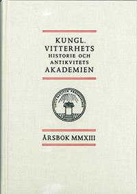 Kungl. Vitterhets historie och antikvitets akademien årsbok. 2013 -  pdf epub