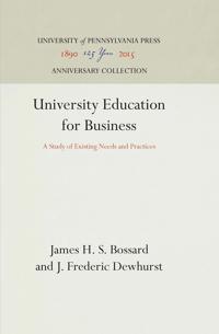 University Education for Business