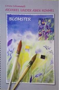 Akvarel under åben himmel - blomster