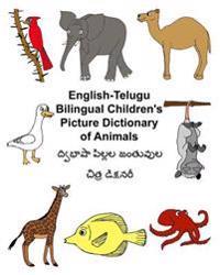 English-Telugu Bilingual Children's Picture Dictionary of Animals