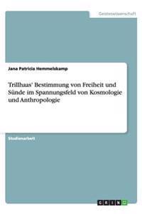 Trillhaas' Bestimmung von Freiheit und Sünde im Spannungsfeld von Kosmologie und Anthropologie