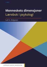 Menneskets dimensjoner; lærebok i psykologi