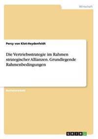 Die Vertriebsstrategie Im Rahmen Strategischer Allianzen. Grundlegende Rahmenbedingungen