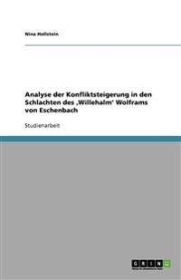 Analyse Der Konfliktsteigerung in Den Schlachten Des 'Willehalm' Wolframs Von Eschenbach
