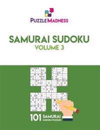 Samurai Sudoku: Volume 3: 101 Puzzles