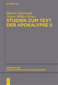 Studien Zum Text Der Apokalypse II