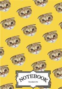 Notebook: Cat Pattern Vol.2: Notebook Journal Diary, 120 Lined Pages, 7 X 10