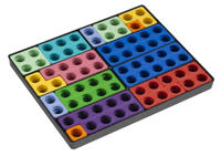 Numicon Talblock box med 80 stycken
