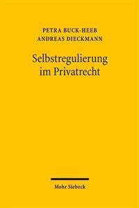 Selbstregulierung Im Privatrecht
