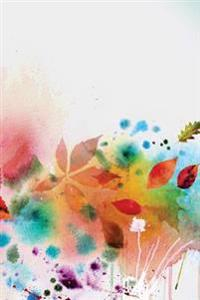 Journal Your Life's Story: Floral Autumn Watercolor Journal, Lined Journal, Diary Notebook 6 X 9, 150 Pages