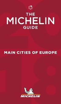 The Michelin guide 2018 - Main cities of Europe
