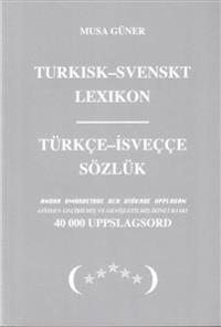 svensk turkisk lexikon