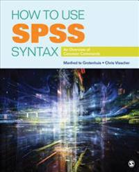 How to Use SPSS Syntax