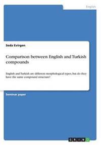 Comparison Between English and Turkish Compounds