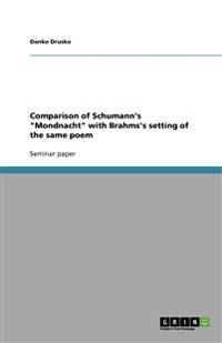 Comparison of Schumann's Mondnacht with Brahms's Setting of the Same Poem