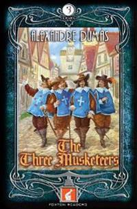Three Musketeers Foxton Reader Level 3 (900 headwords B1
