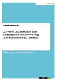 Zuordnen Und Anbringen Einer Feinstoffplakette (Unterweisung Automobilkaufmann / -Kauffrau)