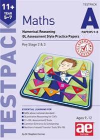 11+ maths year 5-7 testpack a papers 5-8 - numerical reasoning gl assessmen