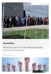 Menschenrechte in Der Fluchtlingsunterkunft. Eine Kurzanalyse Fur Deutschland