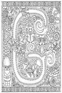Color My Cover Journal - Creative Alphabet - G: 100 Page 6 X 9 Ruled Notebook: Coloring Journal, Blank Notebook, Blank Journal, Lined Notebook, Blank