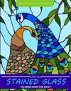 Super Easy Stained Glass Coloring Book for Adults