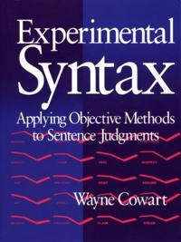Experimental Syntax