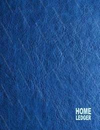 Home Ledger: 3 Columns, 8.5x11, 80 Pages