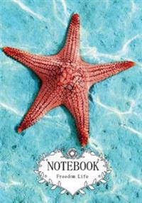 Notebook: Starfishes Vol.15: Pocket Notebook Journal Diary, 120 Pages, 7 X 10 (Notebook Lined, Blank No Lined)