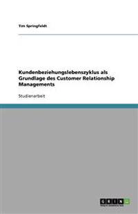 Kundenbeziehungslebenszyklus ALS Grundlage Des Customer Relationship Managements