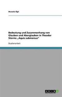 """Bedeutung Und Zusammenhang Von Glauben Und Aberglauben in Theodor Storms """"Aquis Submersus"""""""