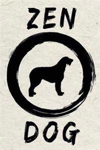 Zen Dog: Dog Memory Journal Notebook V91