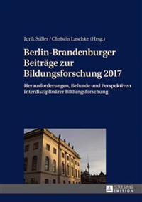 Berlin-brandenburger Beitraege Zur Bildungsforschung 2017