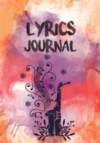Lyrics Journal: Lined/Ruled Paper Journal for Writing - For for Music Lover, Musician, Songwriter's, Music Lover, Student 104 Pages: L