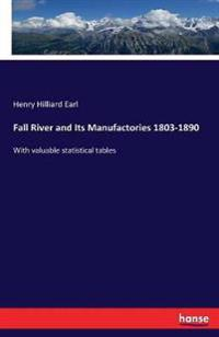 Fall River and Its Manufactories 1803-1890