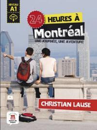 24 heures à Montréal. Buch + Audio-Online
