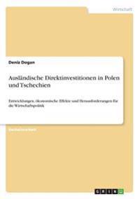 Ausländische Direktinvestitionen in Polen und Tschechien