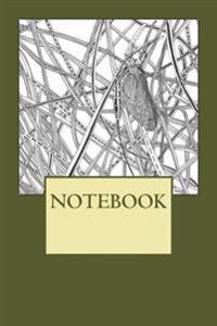 Notebook: Mayfly, Rydal Water, Lake District. Plain (6 X 9): Plain Paper Notebook