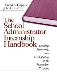 School Administrator Internship Handbook