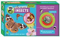 Look and Learn Insects [With Magnifier Jar]