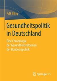 Gesundheitspolitik in Deutschland